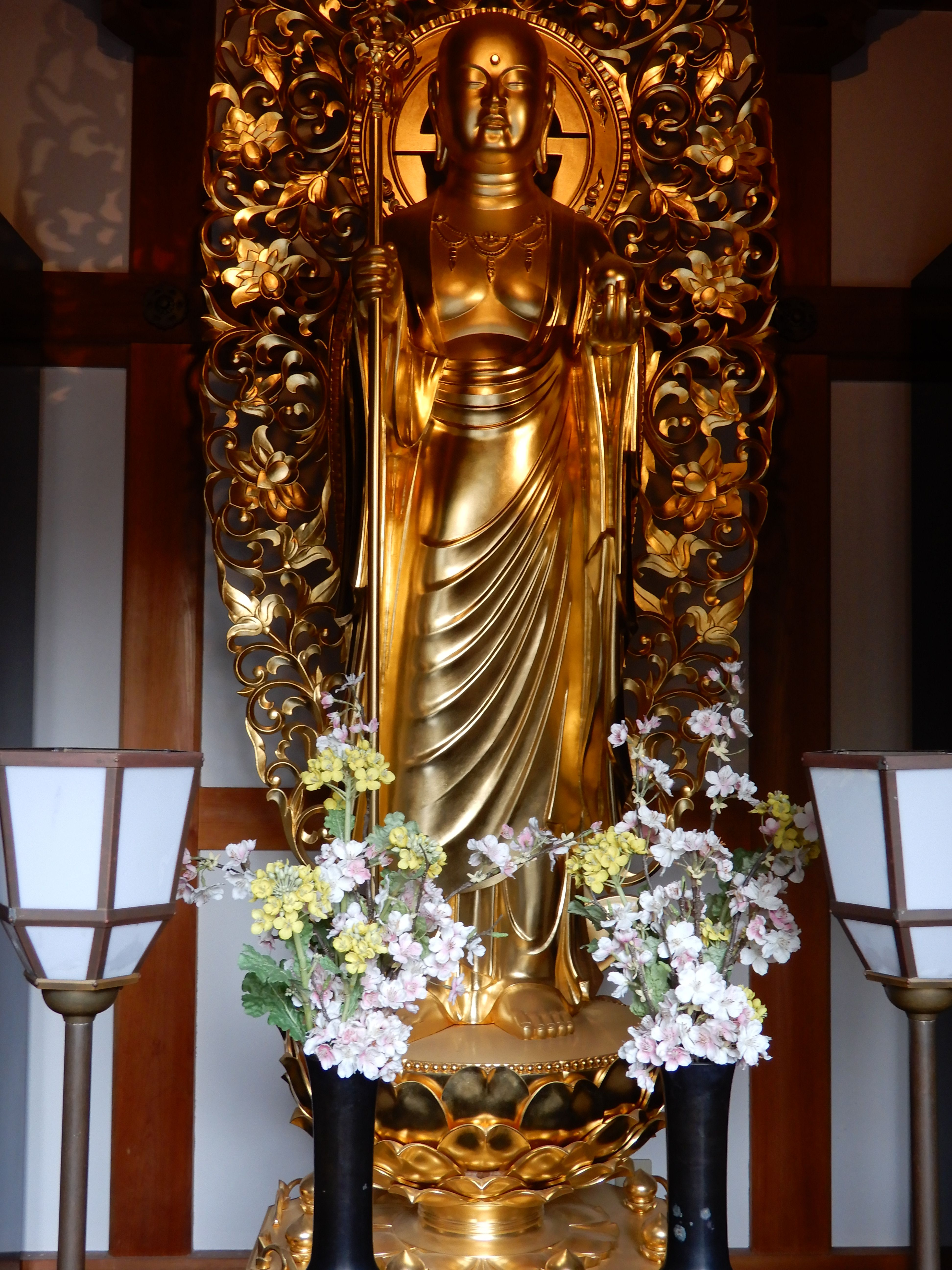 Kannon Goddess of Mercy Hase Buddist Temple Kamkura