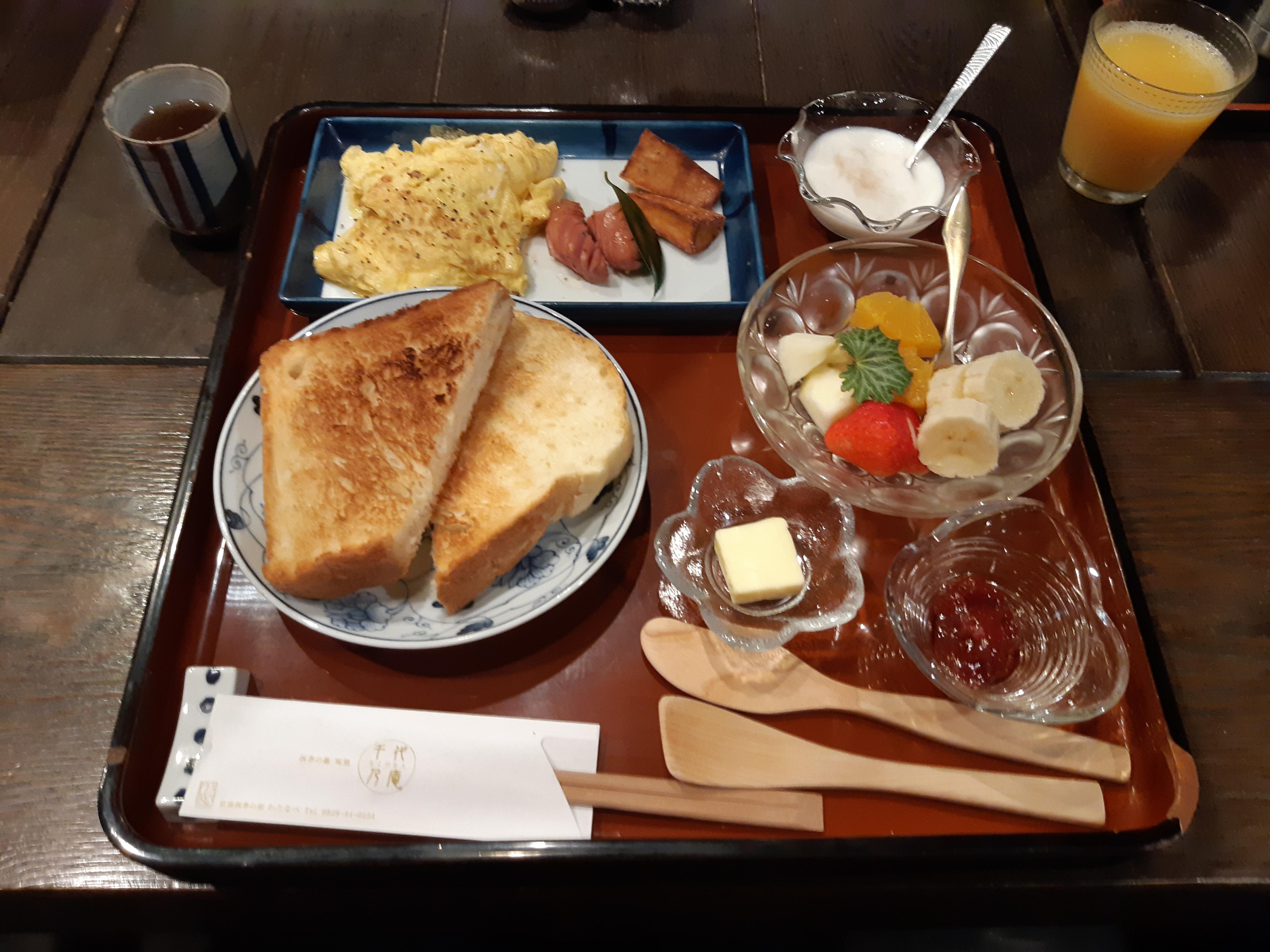 Watanabe Inn Western Breakfast