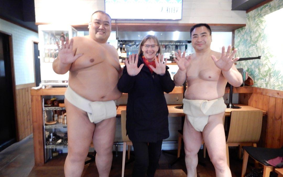 Meiji Shrine and Sumu Wrestling