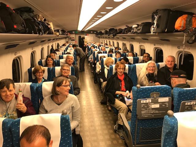 Shinkansen Ride