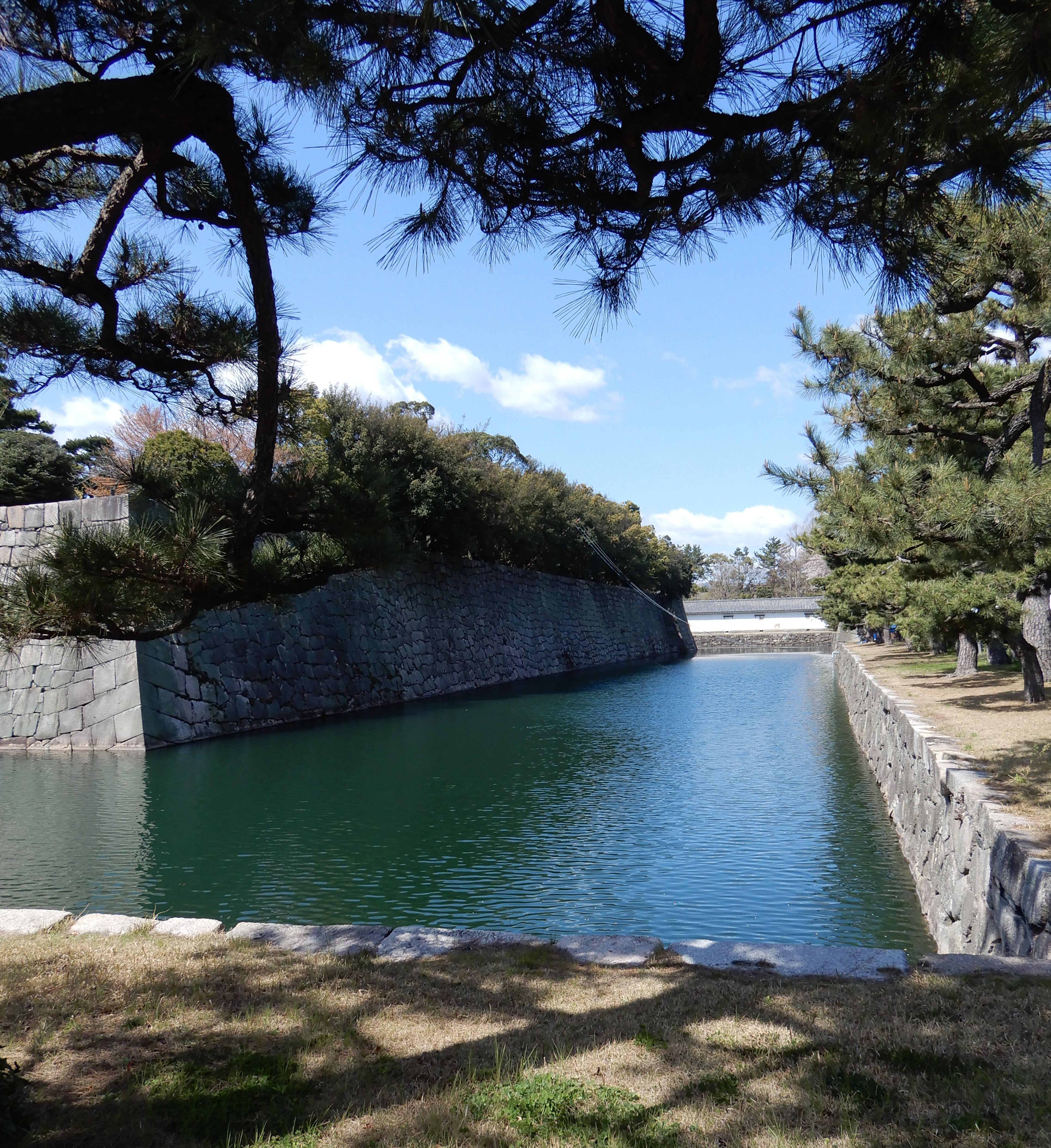 Nijo-jo Castle Moat