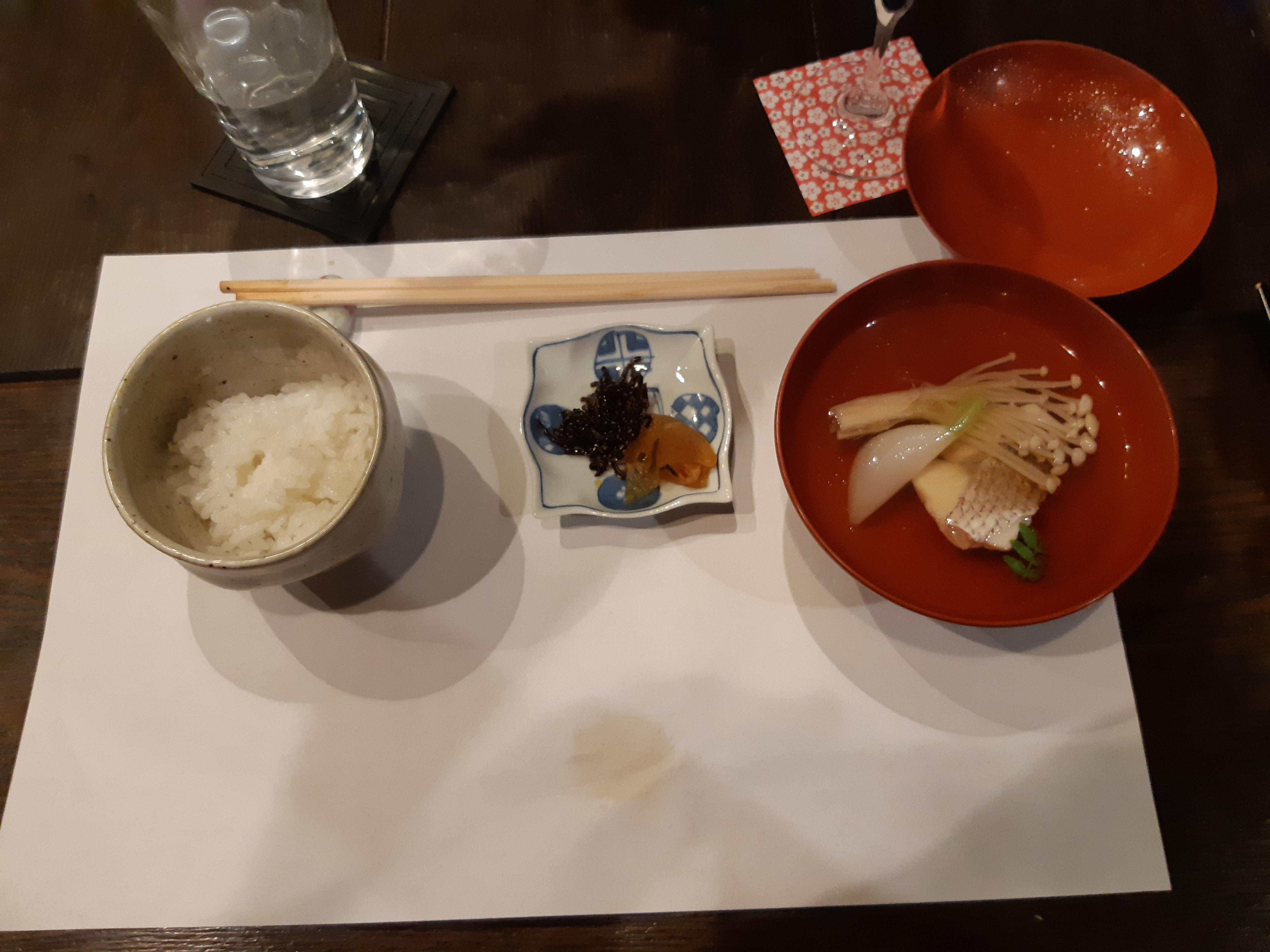Watanabe Inn Dinner 9