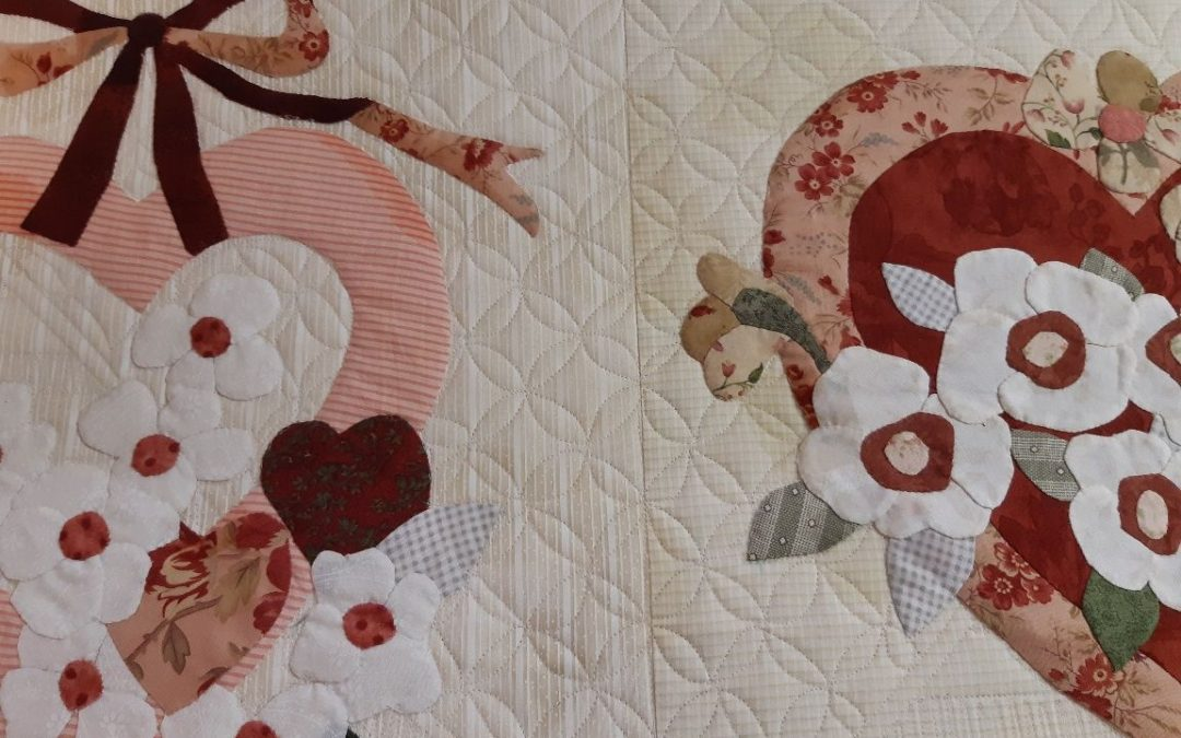 Quilting Vintage Valentine Forever Hand Applique Project