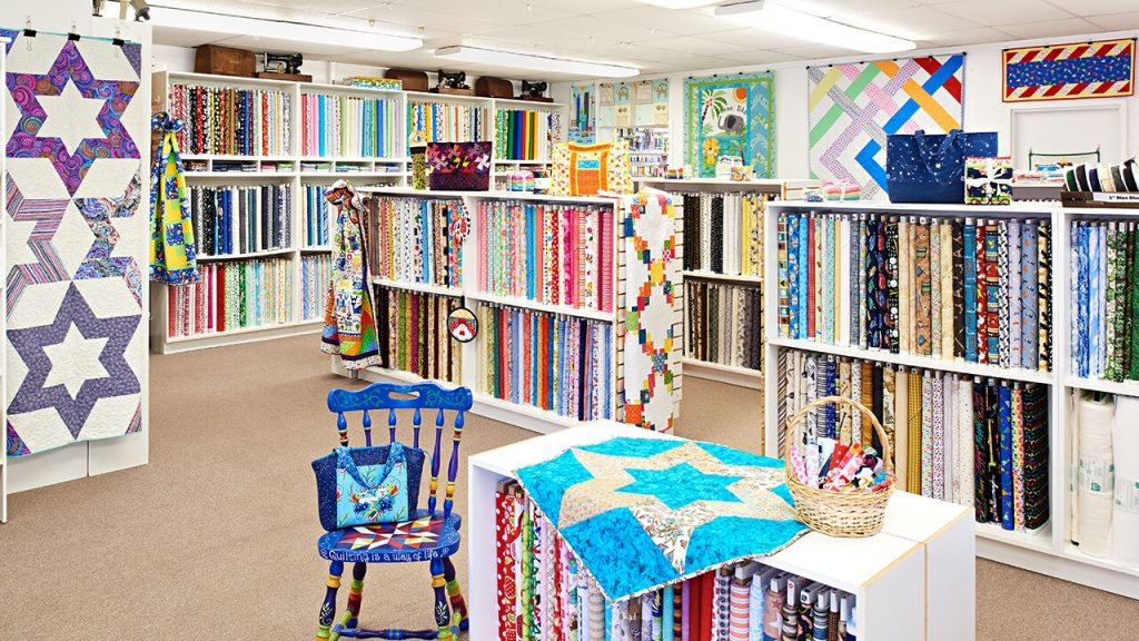 Quilt Shop - Fabric Shopping Tips